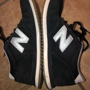 New balance black 501 shoes
